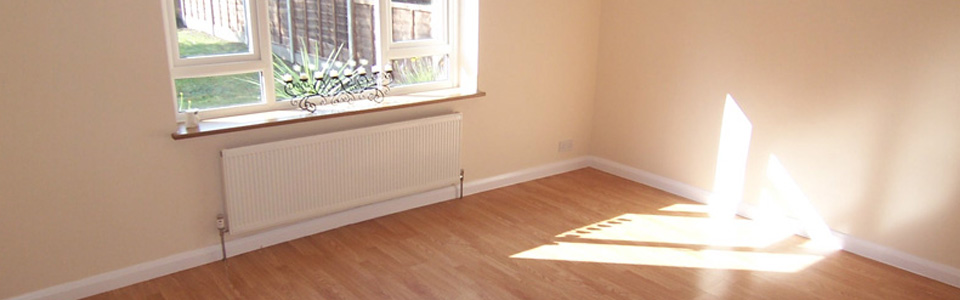 Front room after work finished.