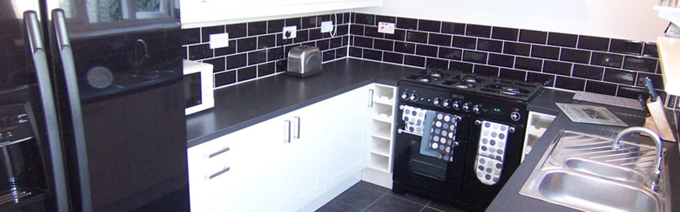 Kitchen after refitting.